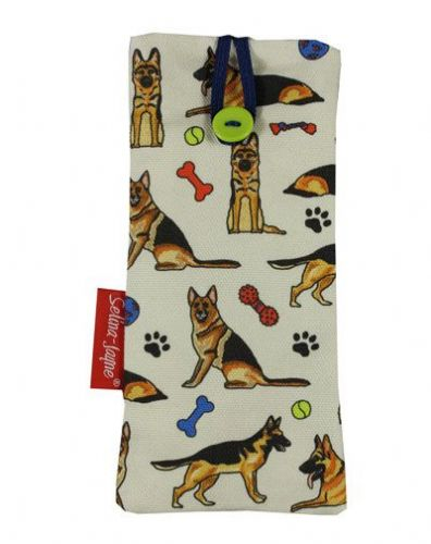 Selina-Jayne German Shepherd Dog Limited Edition Designer Soft Glasses Case